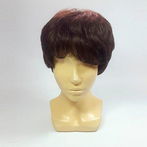 Парик из натуральных волос HM-160 6
