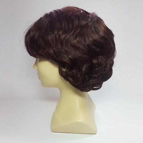 Парик из искусственных волос 9817 #Каштановый