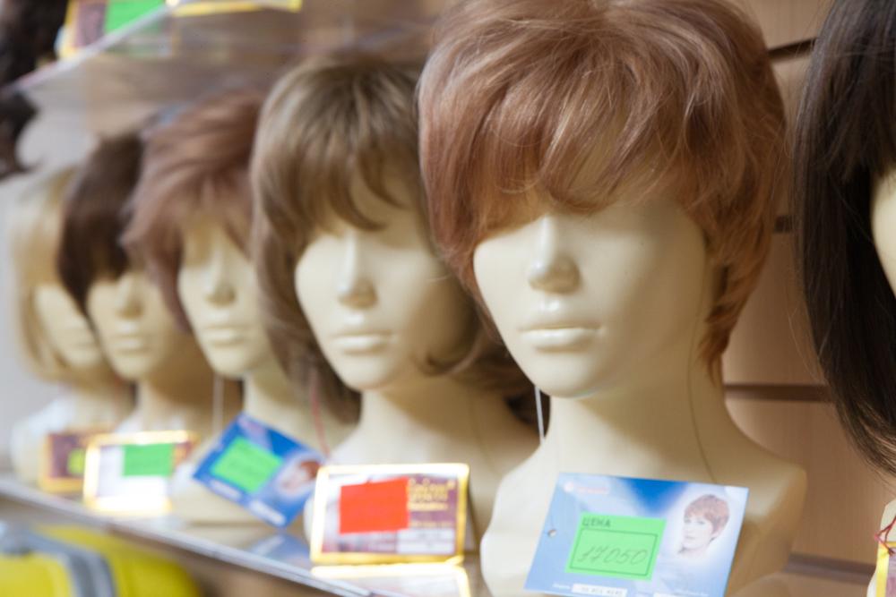 Купить науральный парик недорого в Москве Парик-Оптом