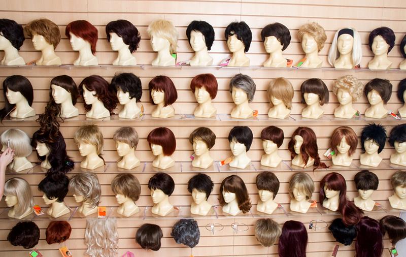 синтетическая имитация волос