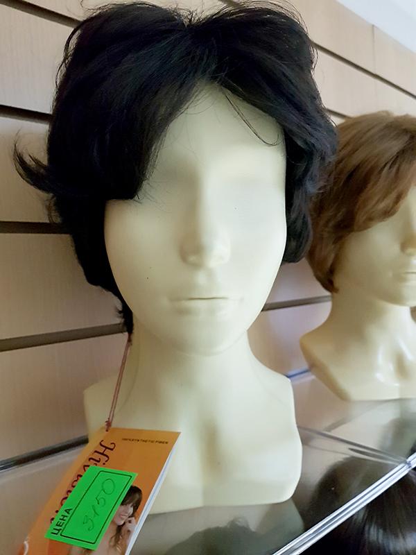 купить парик из искусственных волос