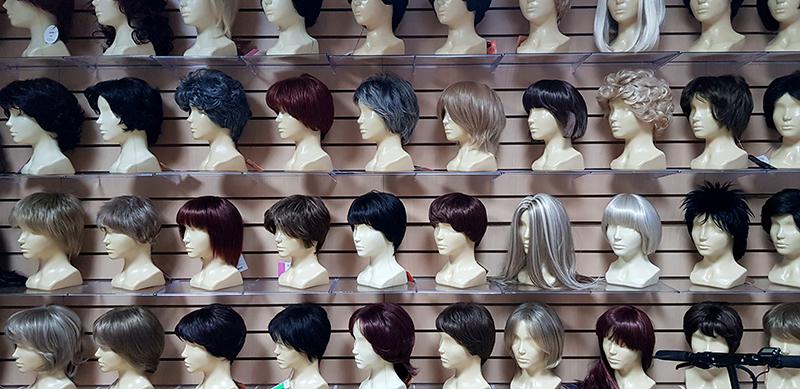 парик с длинными волосами заказать купить