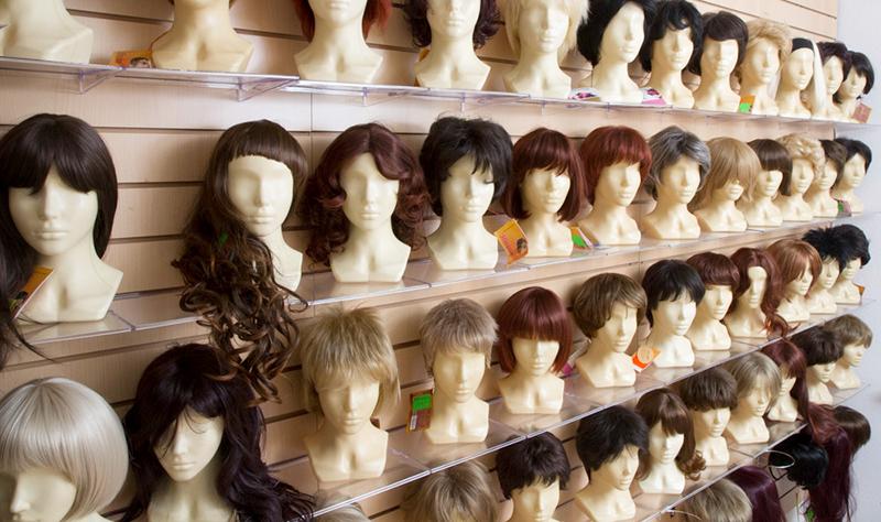 парик ручной работы с длинными волосами