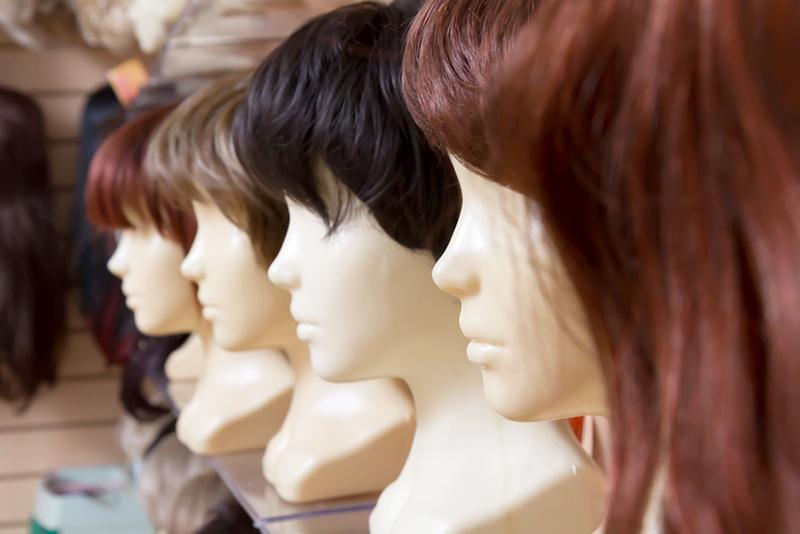 натуральный парик машинной работы средней длины купить